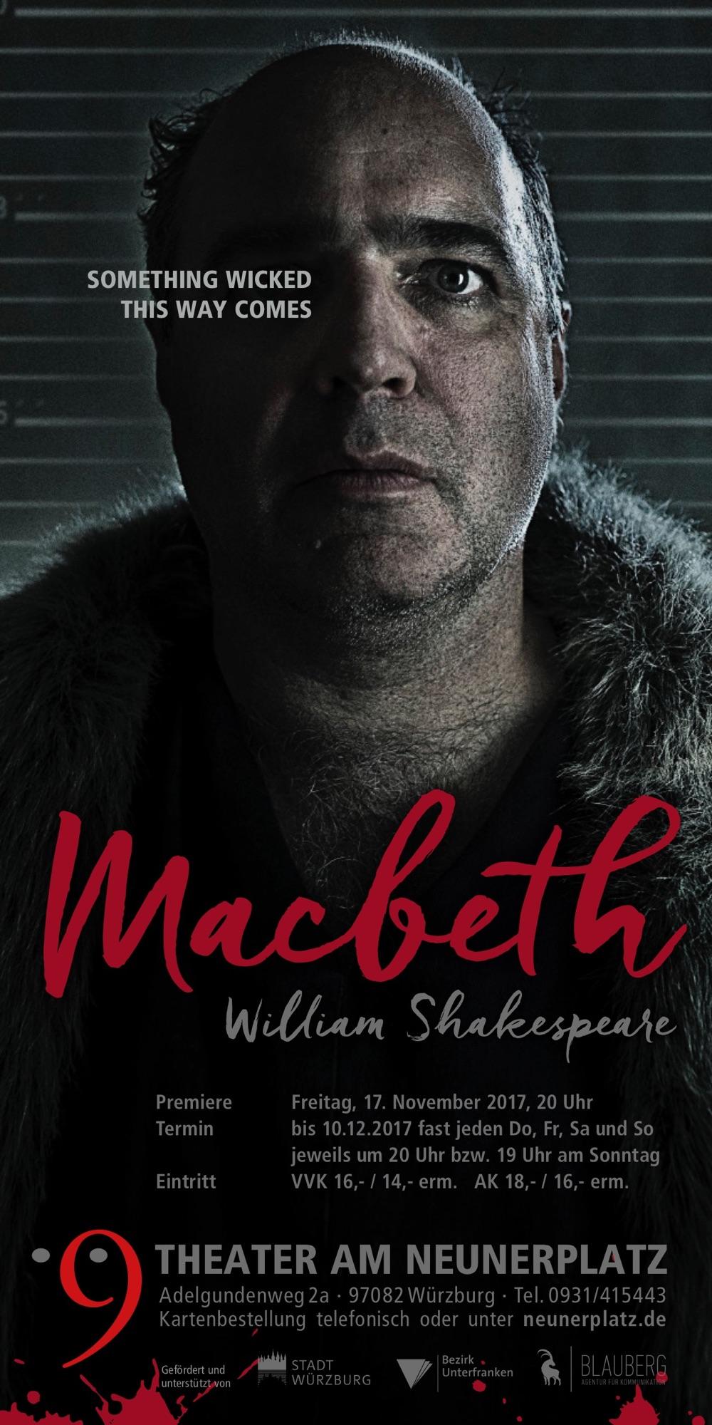 Macbeth im Theater am Neunerplatz, Würzburg