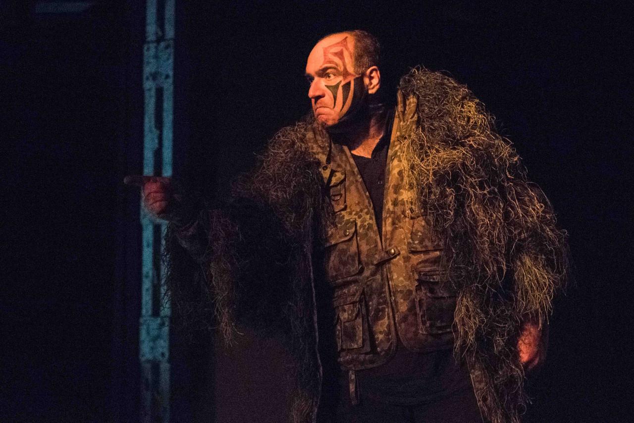 Macbeth rüstet sich zum Kampf