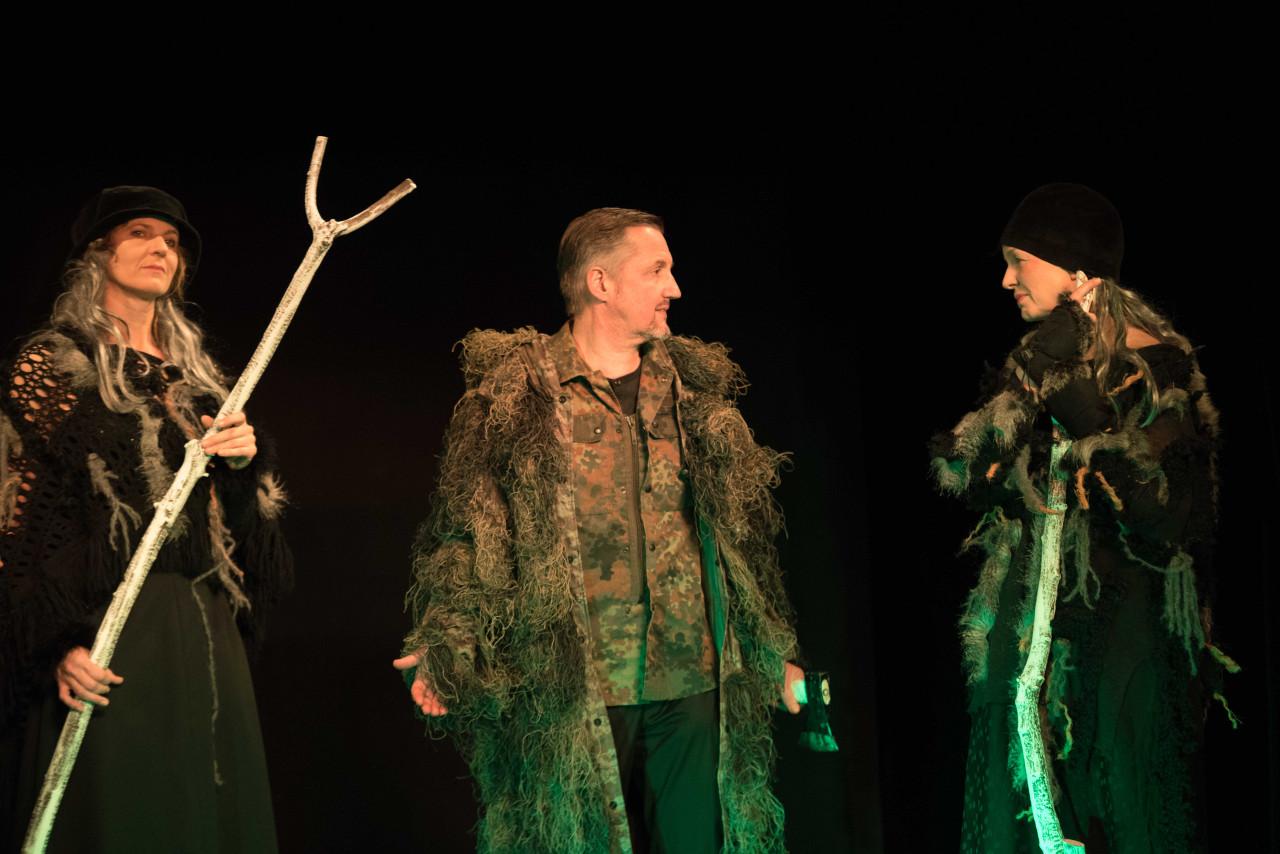 Die Hexen weissagen Banquo