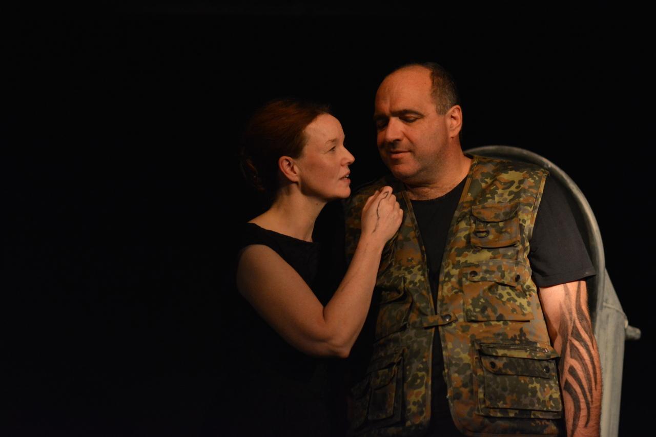 Lady Macbeth und Macbeth besprechen ihren Mordplan