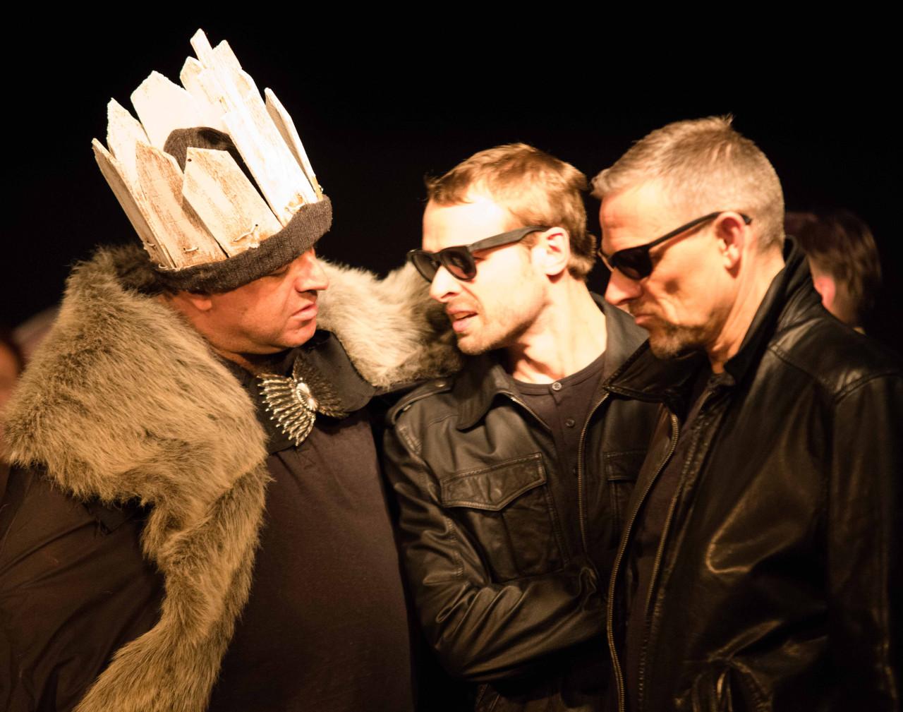 Die Mörder berichten Macbeth