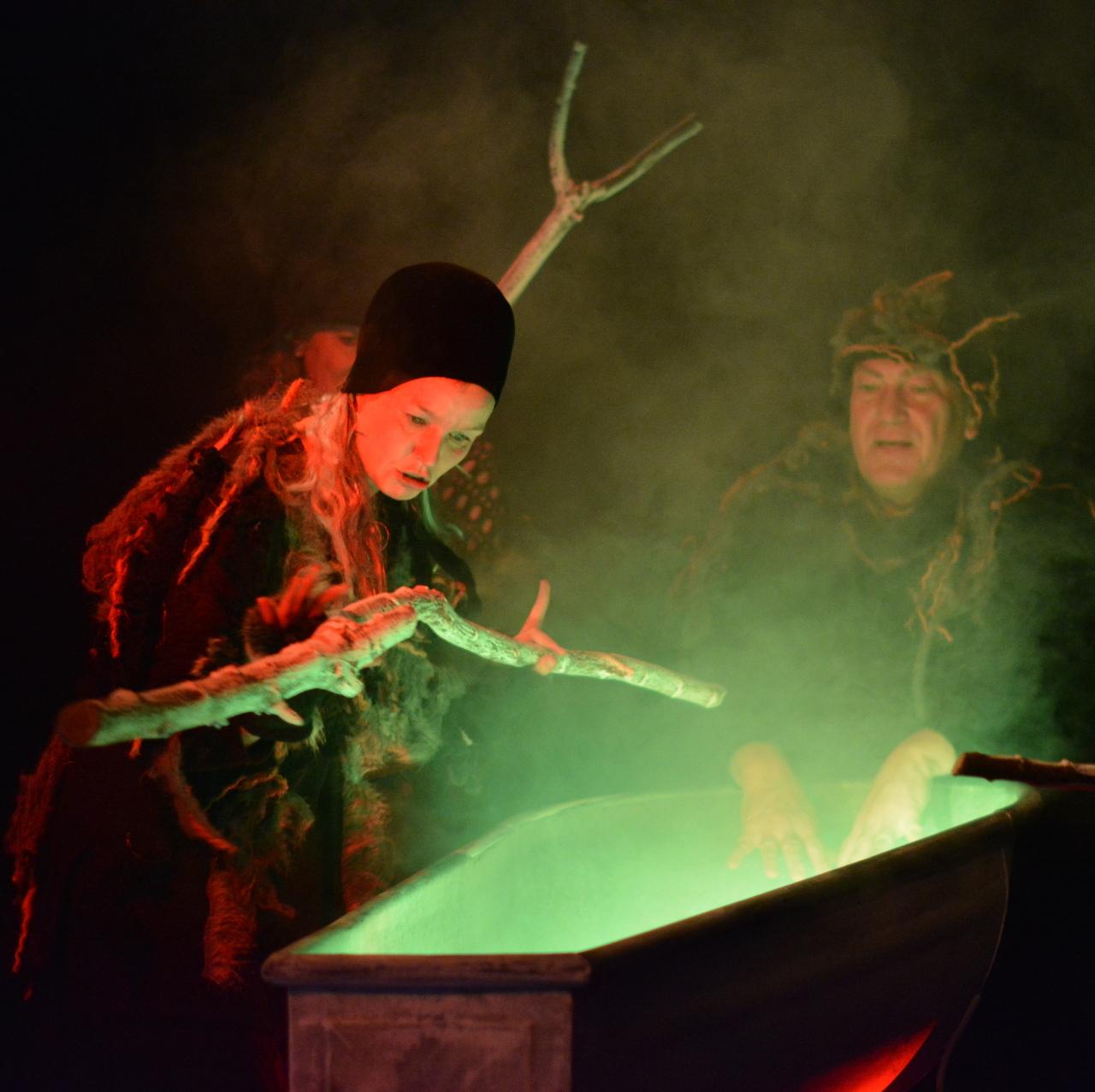 Hexenkessel mit Zaubertrank