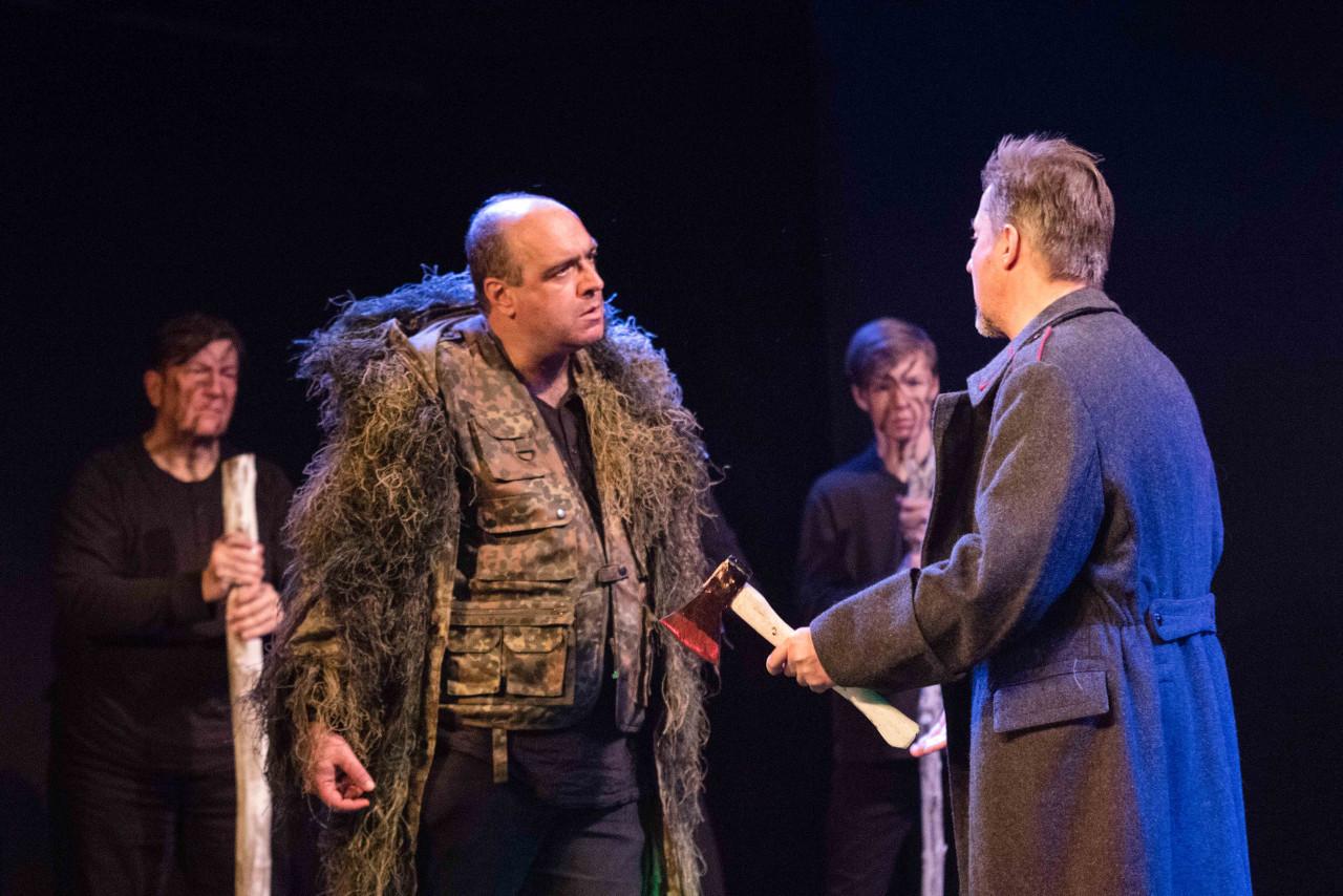 Macbeth im Kampf mit Macduff