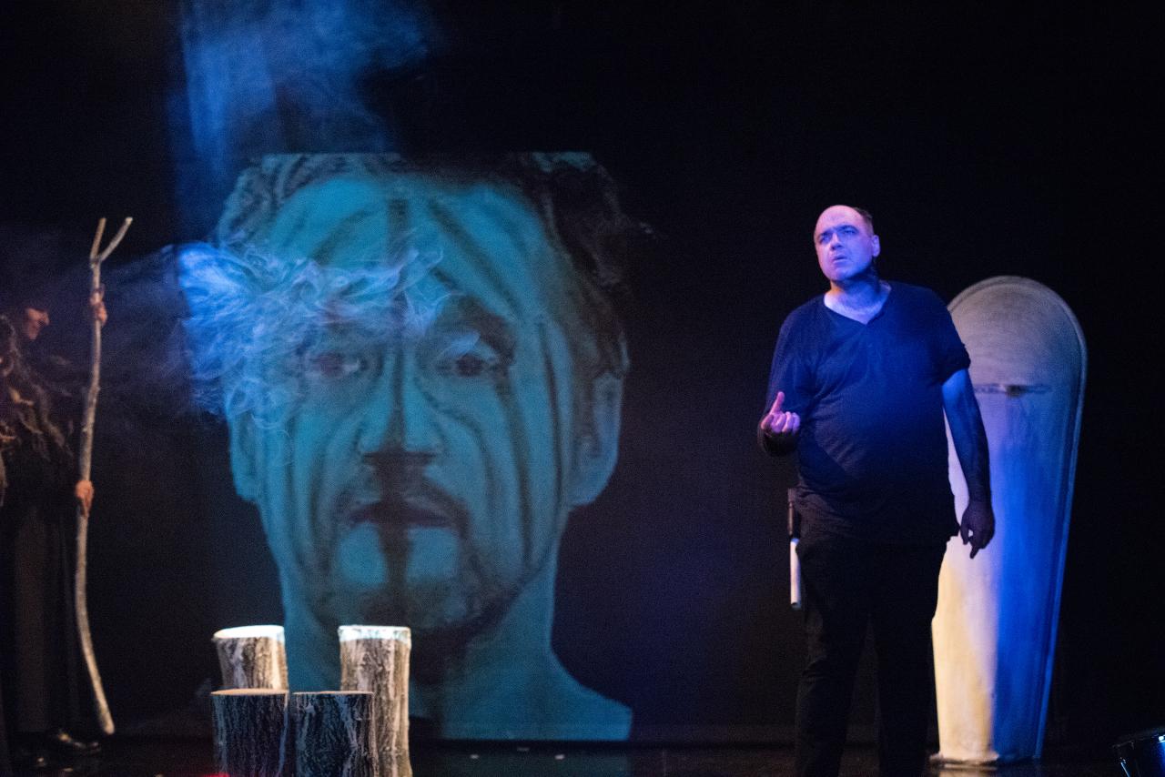 Banquo erscheint dem Macbeth bei der zweiten Weissagung